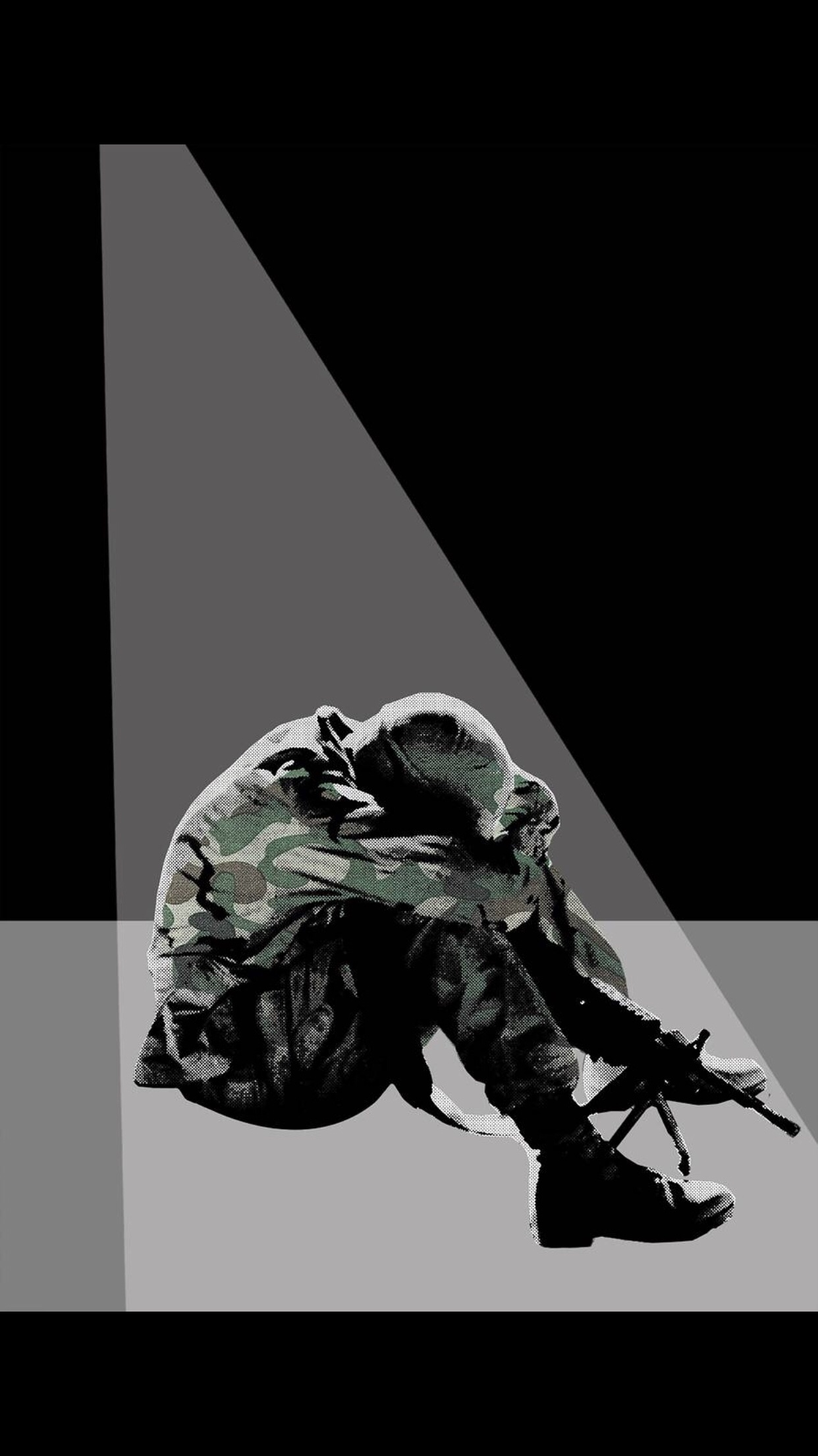 Hookup a combat veteran with ptsd